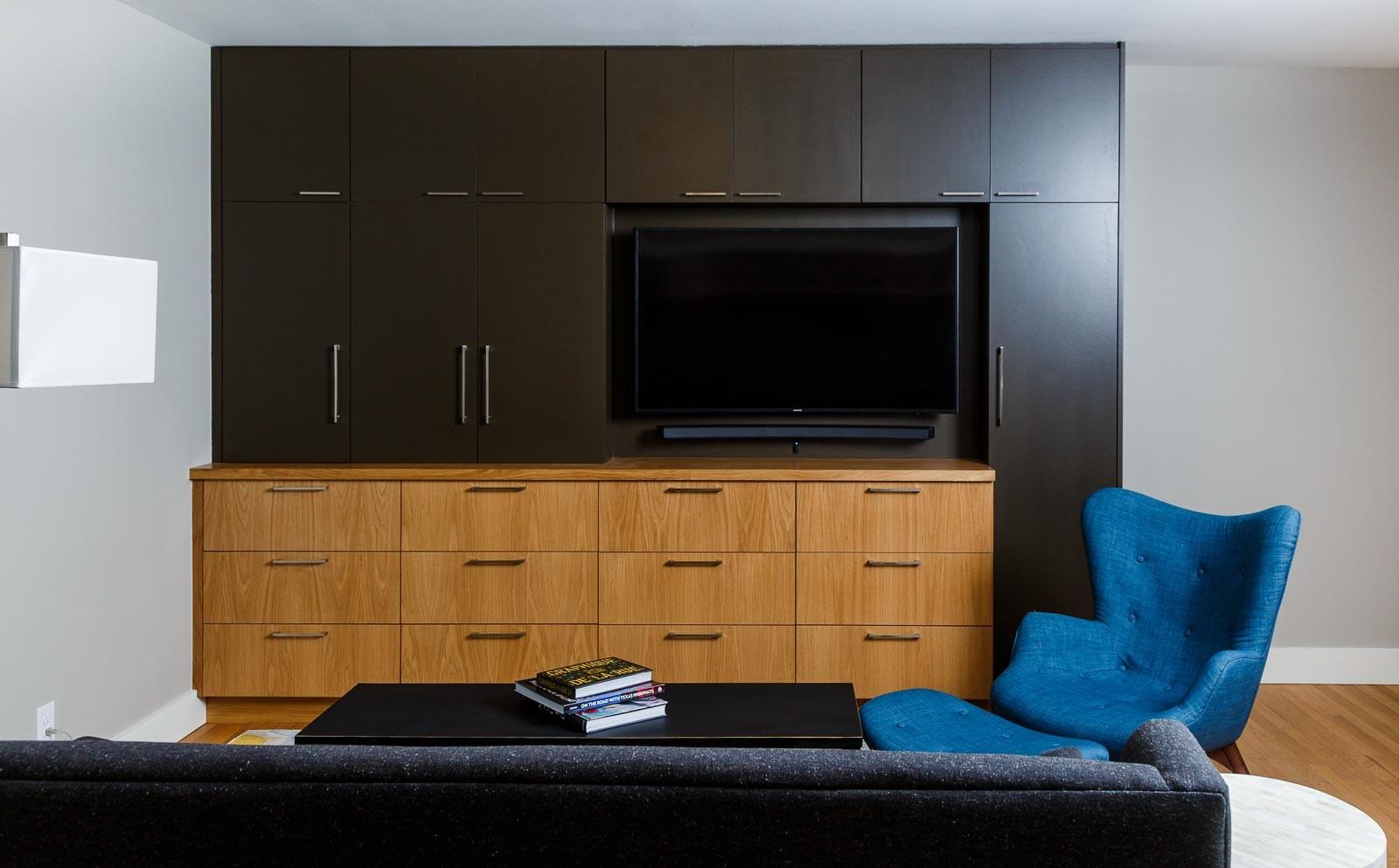 Custom Livingroom Modern Storage