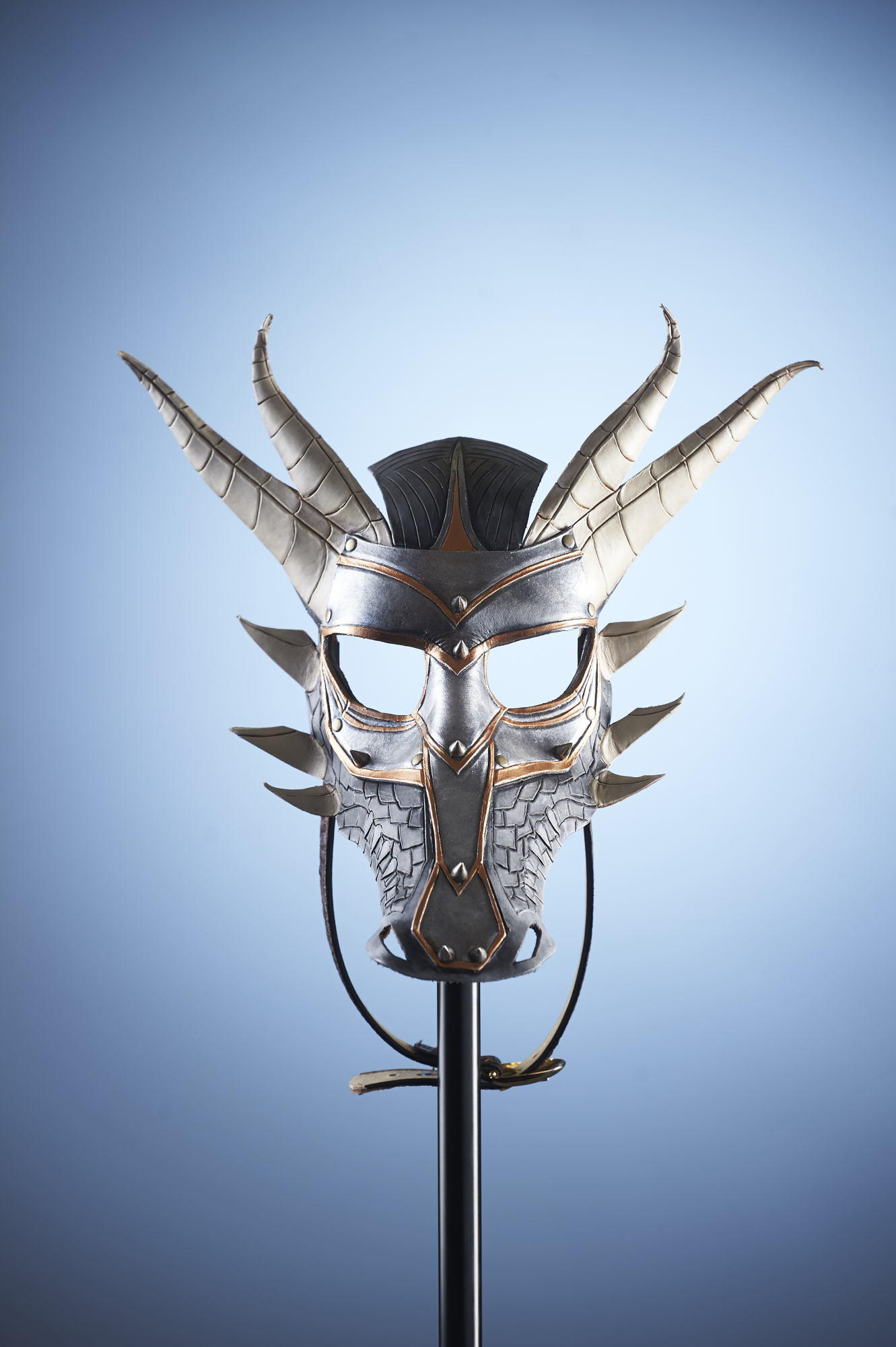 Austin Product Photography - Cusom Leather Masks - Product Photographer