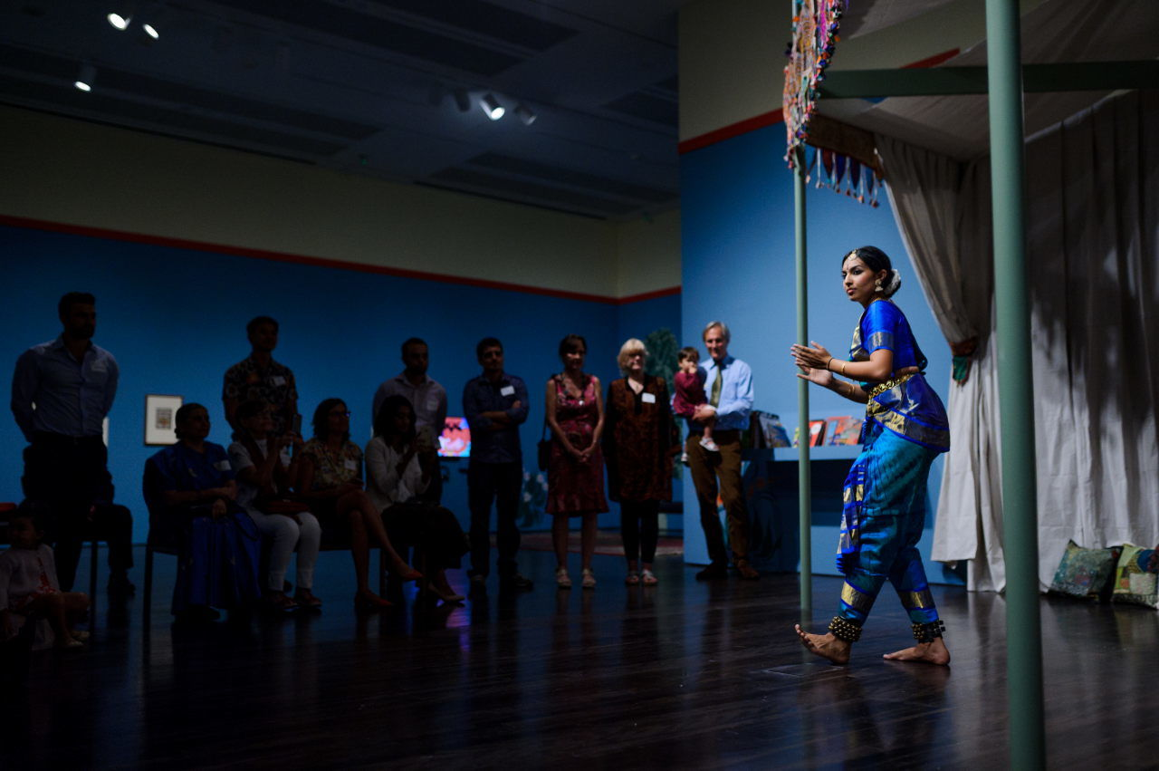 Epic India - Blanton Museum Event Photography
