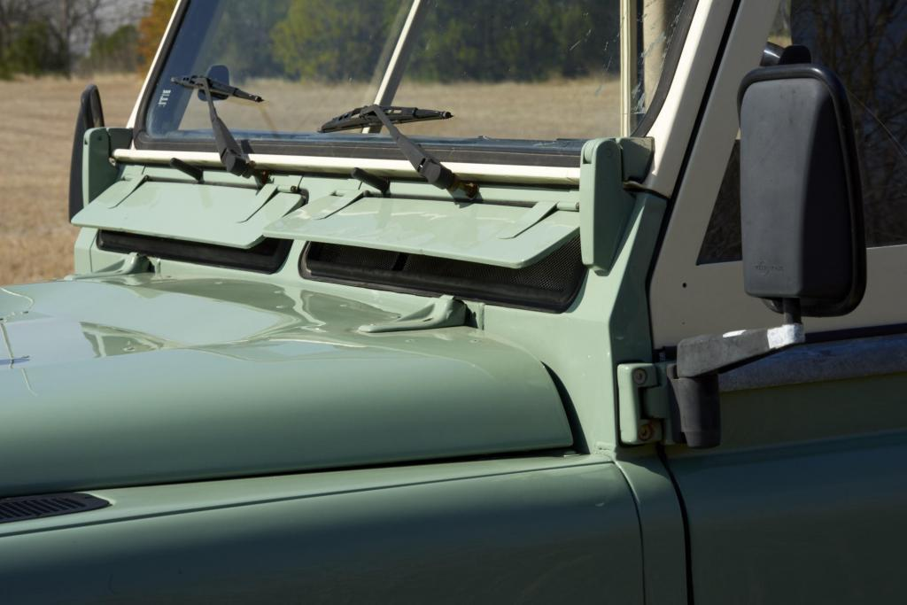 Classic Land Rover Truck - Landrover 110 Truck - Classic Car Photography
