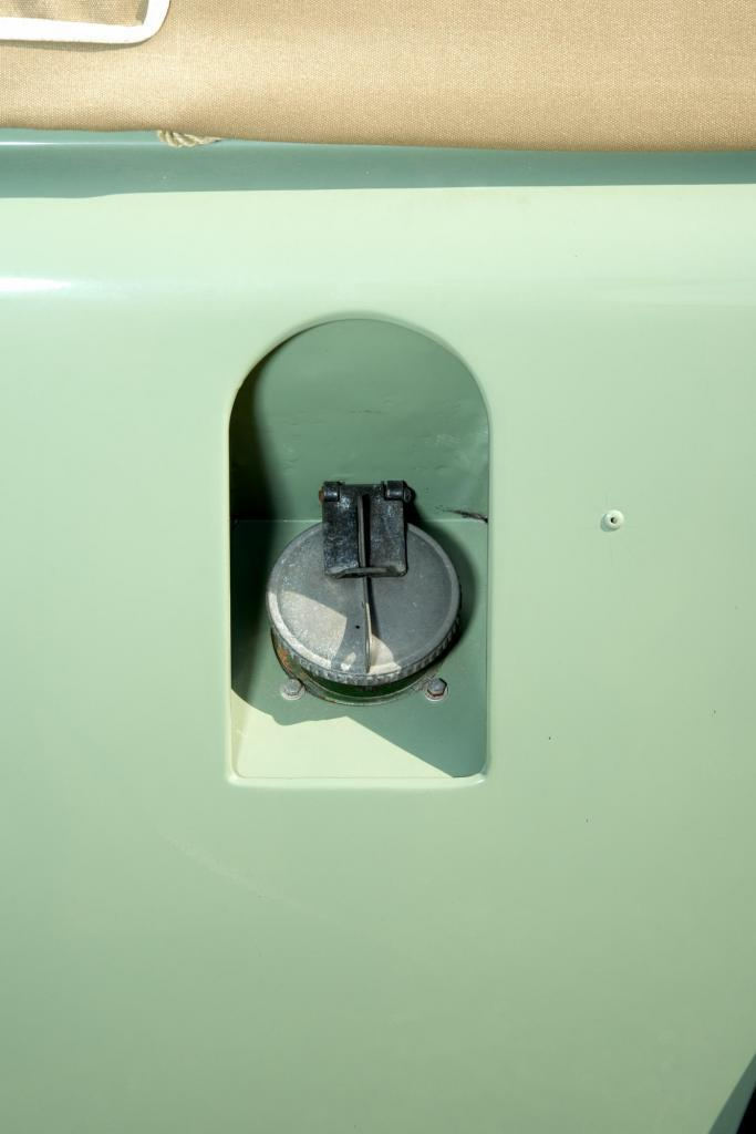 Latch Style Gas Cap, Land Rover 110 Truck - Classic Truck Photography