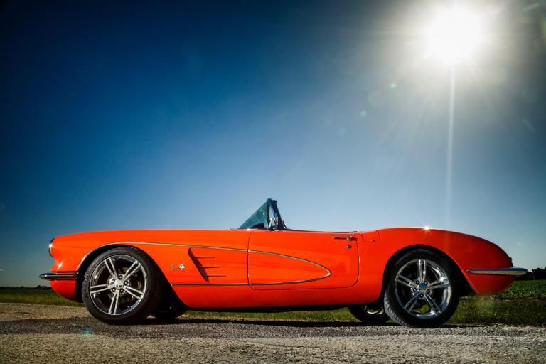 1962 Chevy Corvette C1 Restomod - Automotive Photography