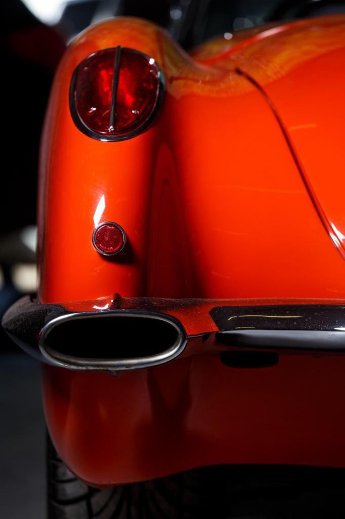 1962 Chevy Corvette Rear Taillight Detail - Restomod C1 Vette