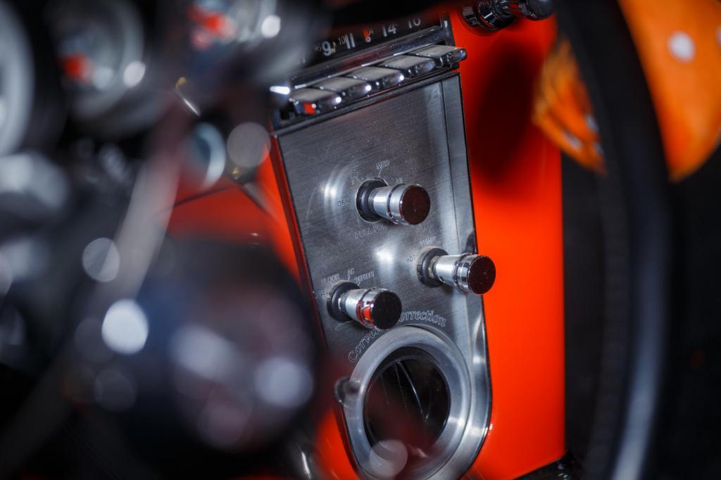 1962 Chevy Corvette C1 Restomod Center Console Detail - Automotive Photography
