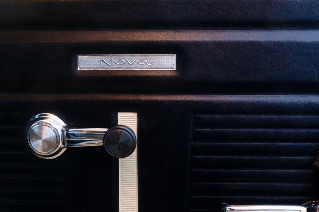 Historic Car, 1970 Yenko Nova with a 427 Big Block Interior Nova Badging