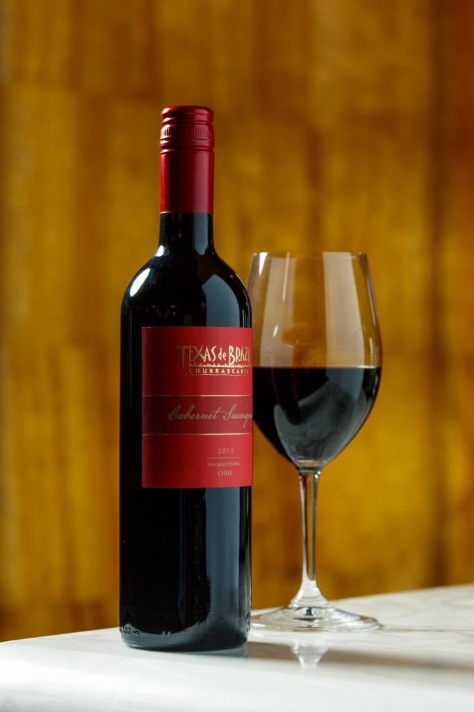 Texas De Brazil House Red Wine Commercial Lifestyle Restaurant Photography