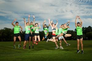 Run Lab's Zilker Relay Race Team Before the Relay Race