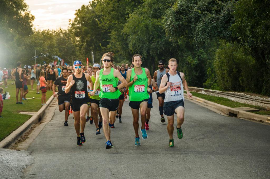 The start of Zilker Relay Race Photography.