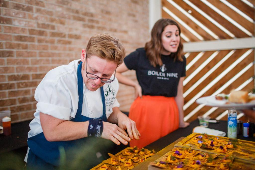 Local Chefs Share Their Creations - Austin Farm to Table Gala 2018 - Barr Mansion Event Photography - Food Photography