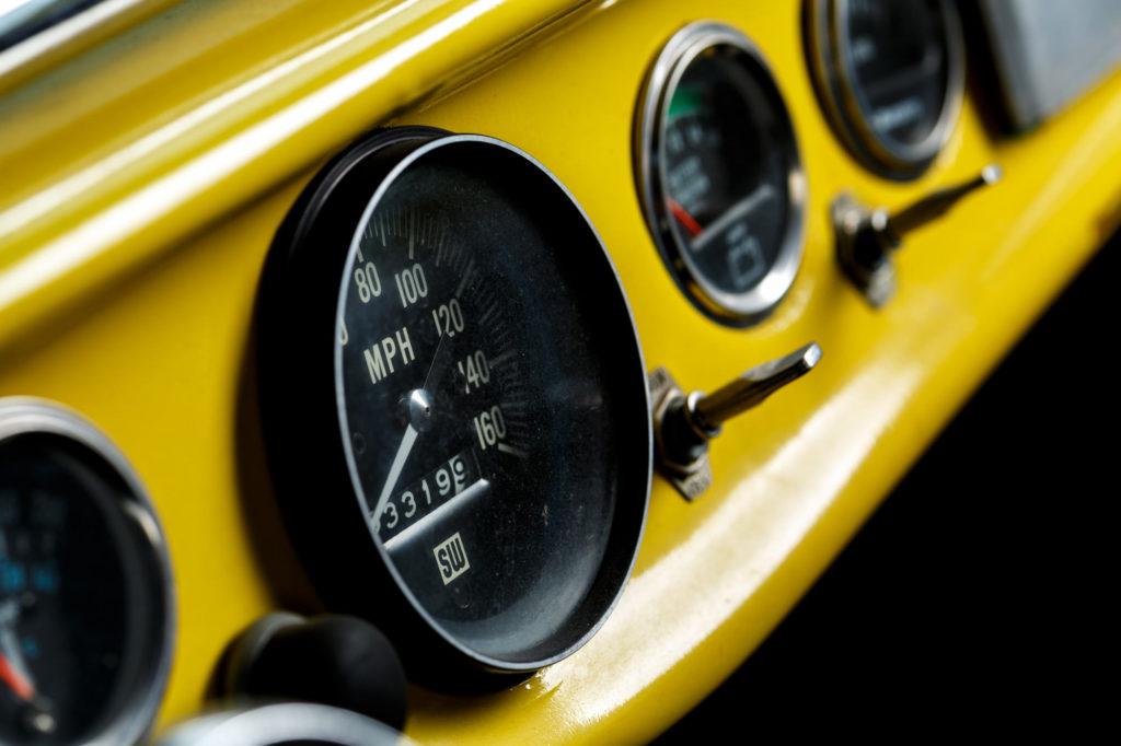 Classic Chevy Street-rod - Automotive Photography - Custom Dash - Automotive Details